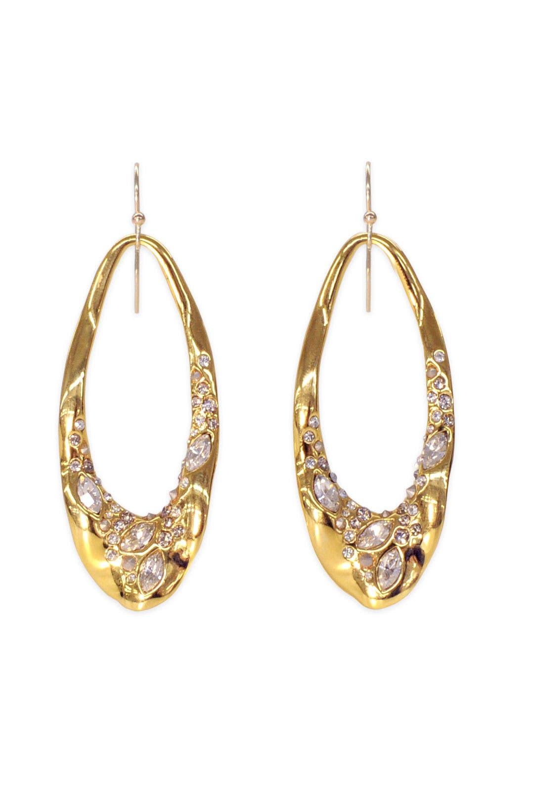 Crystal Orbit Earrings by Alexis Bittar
