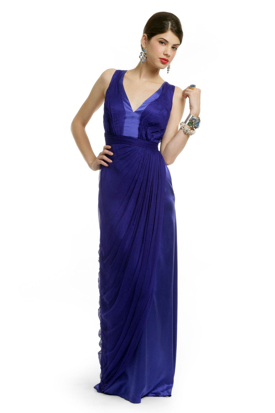 Cerulean Duchess Gown by Carlos Miele for $94 | Rent the Runway