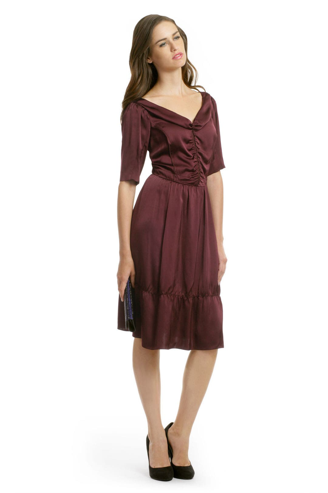Victoria Satin Dress by Nina Ricci