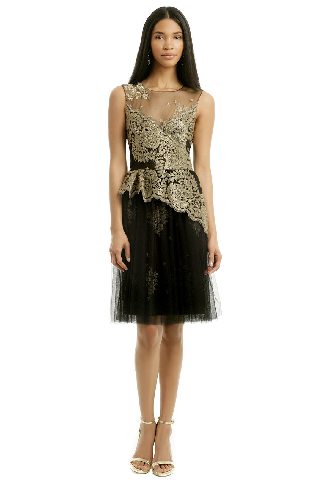 Laurel dress by marchesa notte for 35 rent the runway for Rent dress for wedding guest