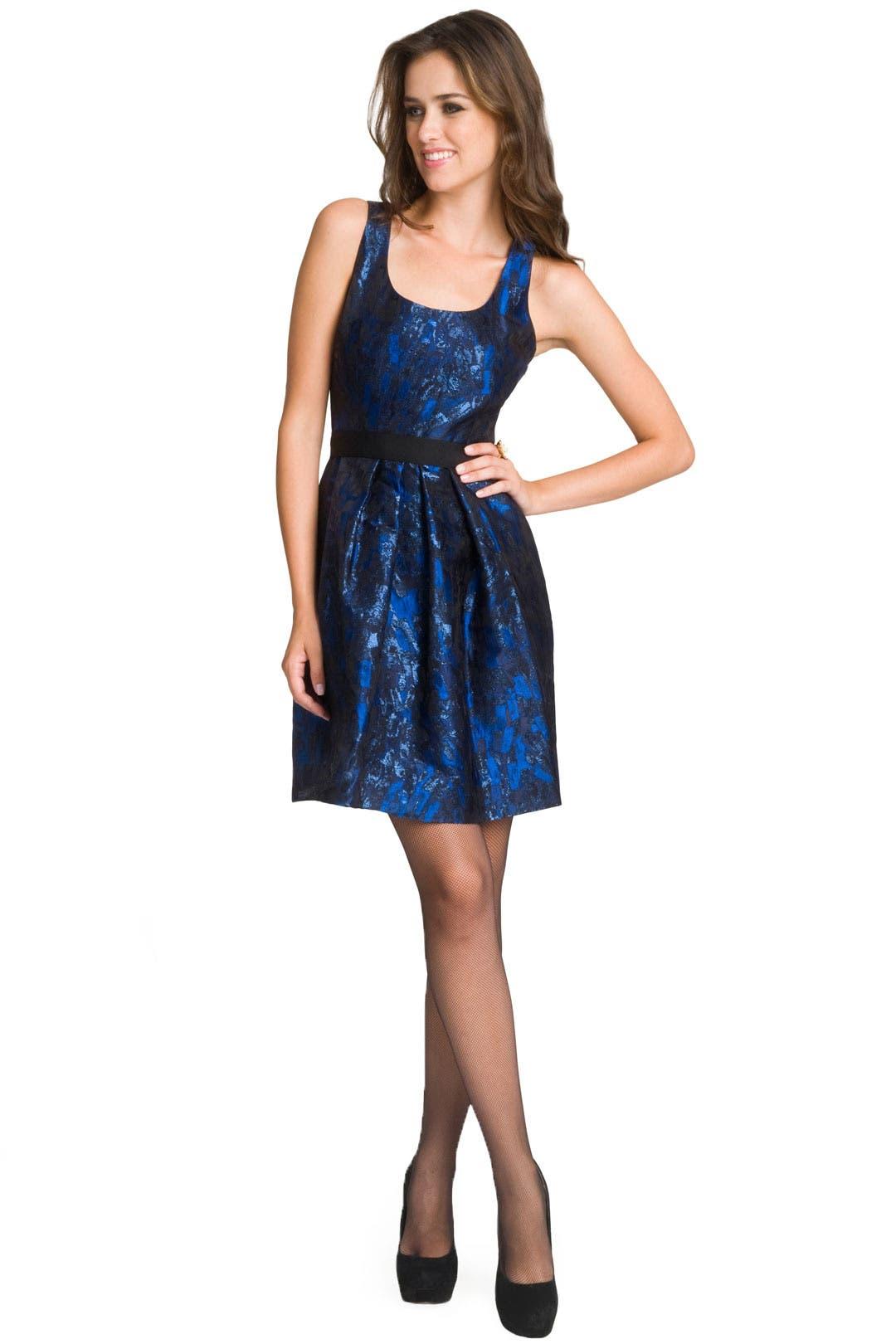 Retro Brocade dress by Lela Rose