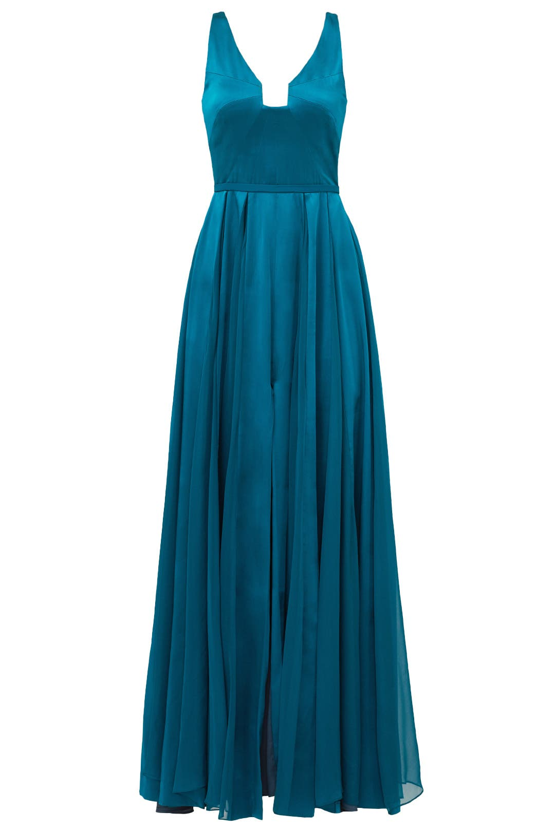 Teal Twirl Gown by Halston Heritage for $179 | Rent the Runway
