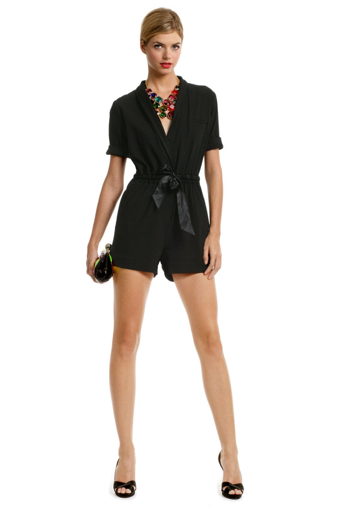 Babcock Belted Romper by ERIN erin fetherston