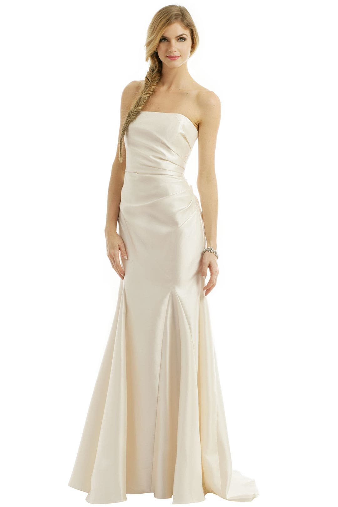 Ivory Dream Gown by Badgley Mischka for $150 | Rent the Runway