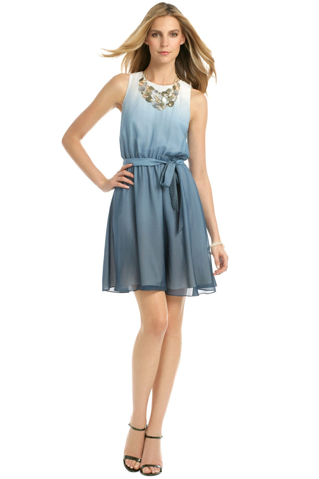 Blue Sea Mist Dress by ERIN erin fetherston
