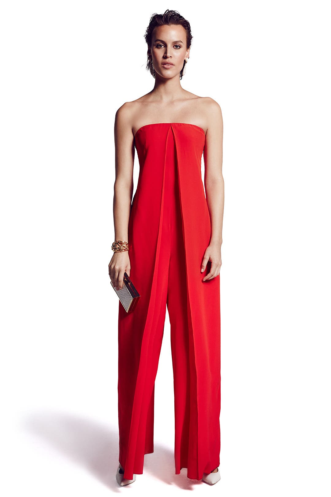 Origami jumpsuit by cedric charlier for 333 rent the runway - Jumpsuit hochzeit ...