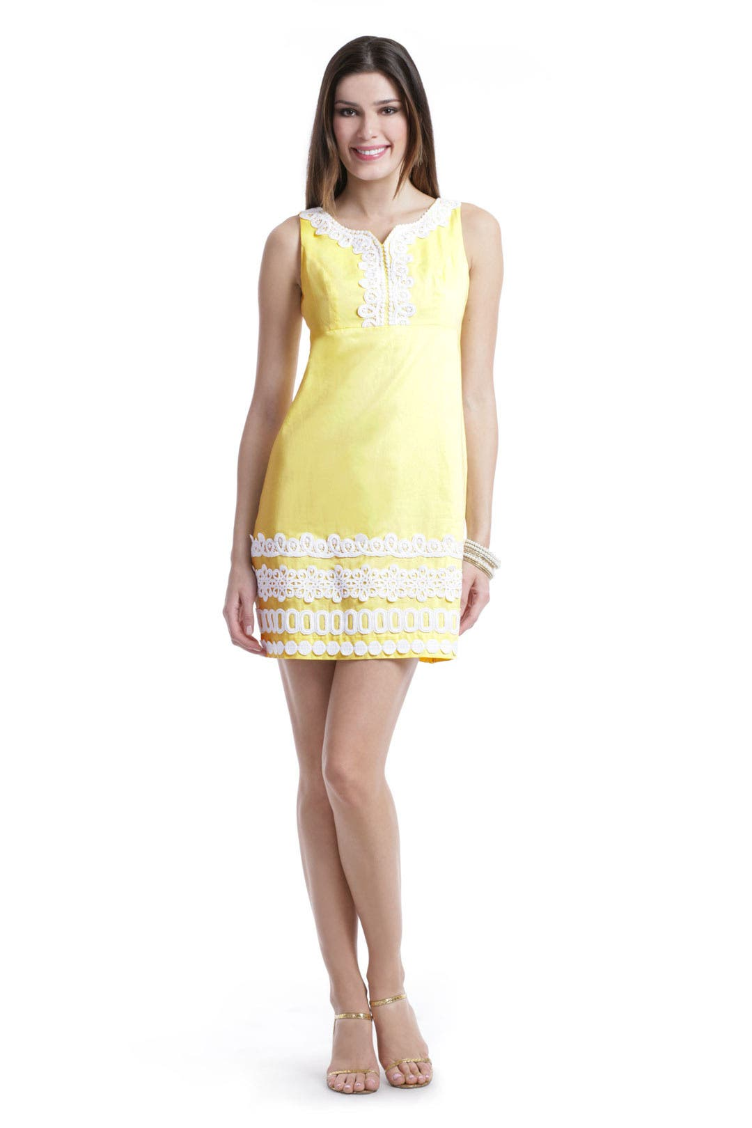 Dolly Lace Shift Dress by Lilly Pulitzer