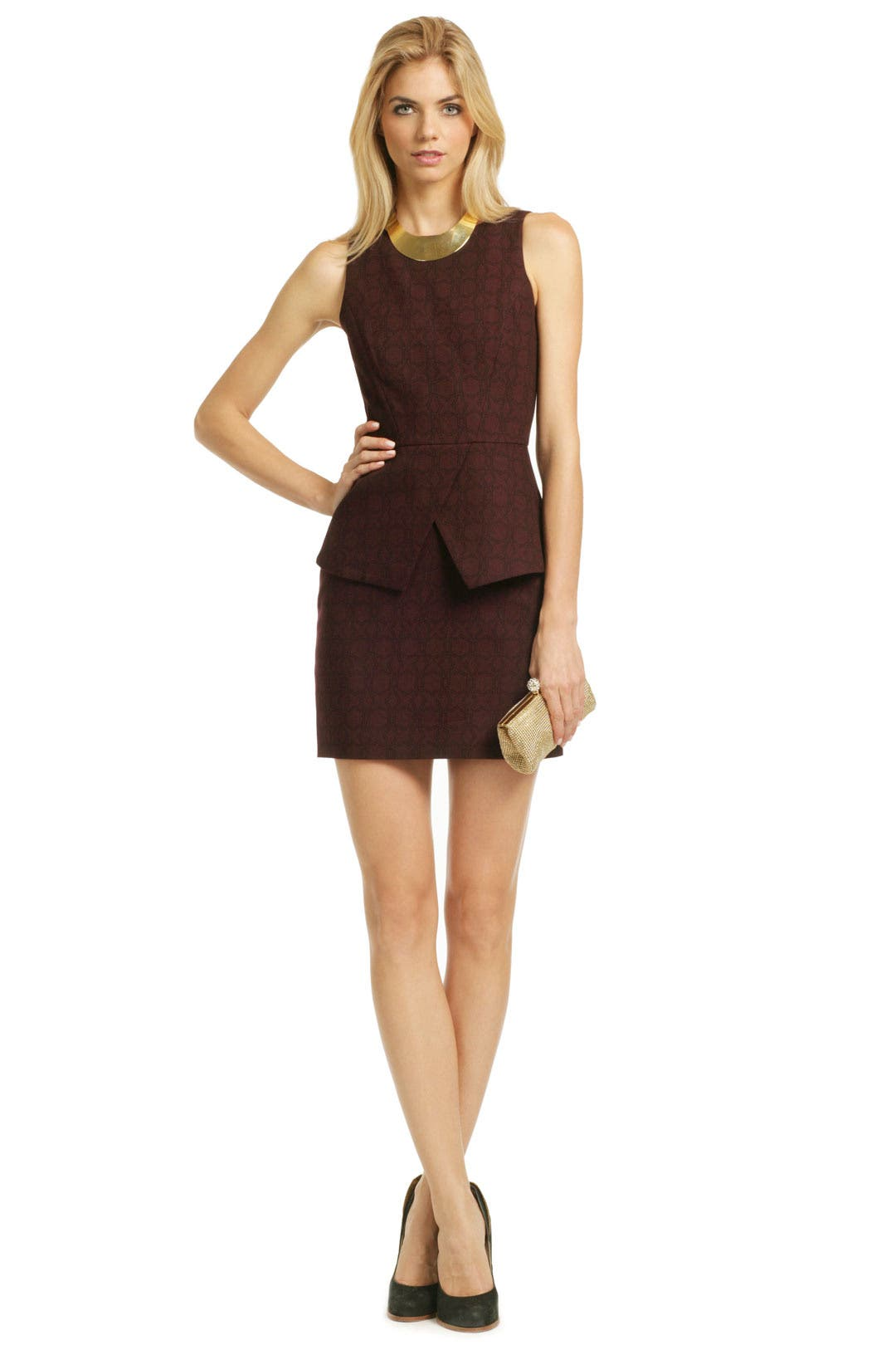 Star Grid Sheath by Tibi