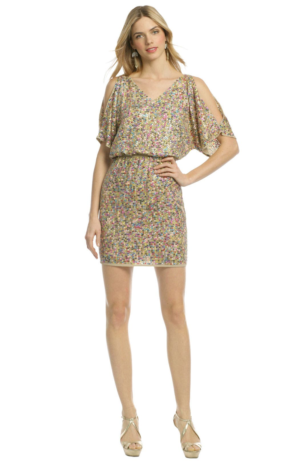 Vega Multi Sequin Dress by Trina Turk