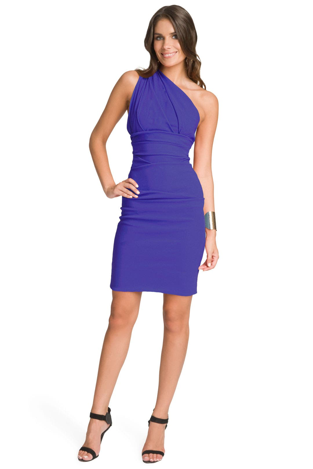 Blue Violet Cocktail Dress by Preen
