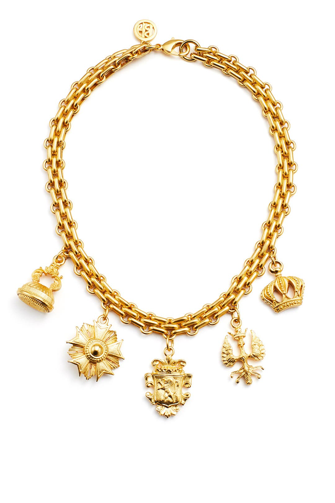 Ben-Amun Royal Locket Charm Bracelet RoddGtAfr