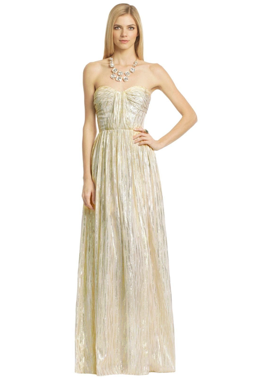 Metallic Drizzle Gown by ERIN erin fetherston
