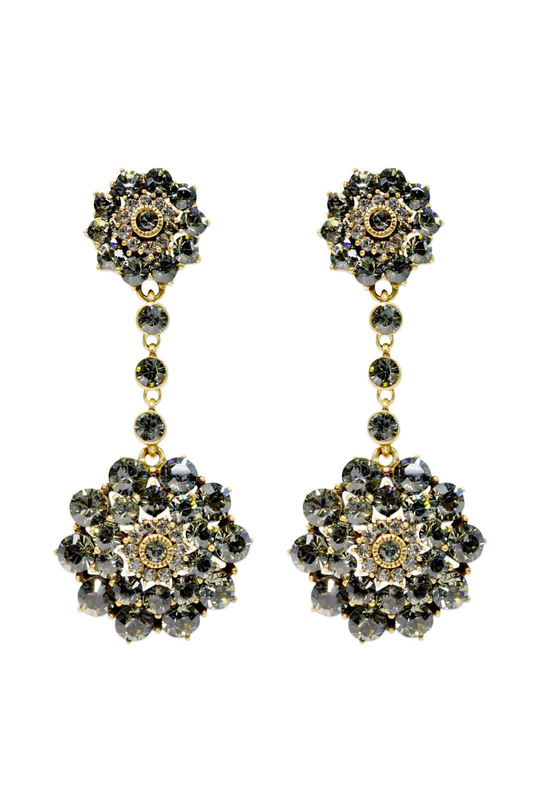 I See Stars Earrings by Oscar de la Renta