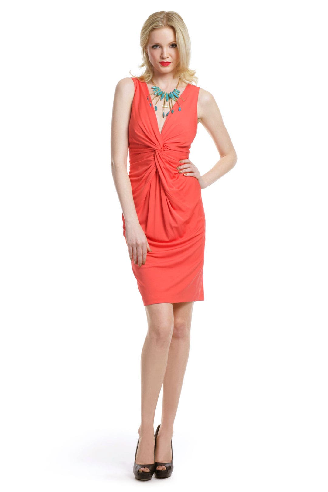 All Tied Up Dress by Robert Rodriguez Black Label