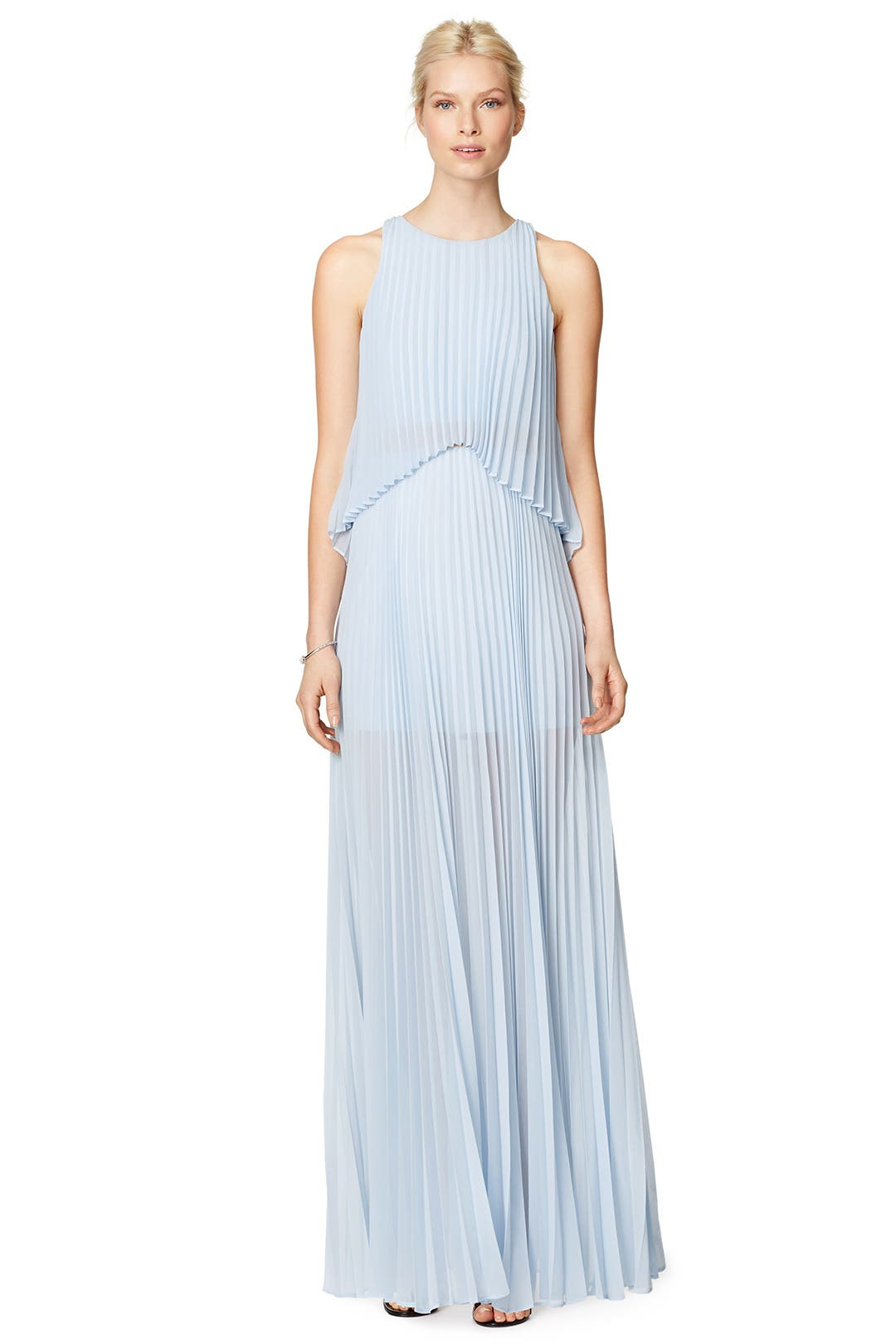 Shaina Pleated Gown by BCBGMAXAZRIA for $80 | Rent the Runway
