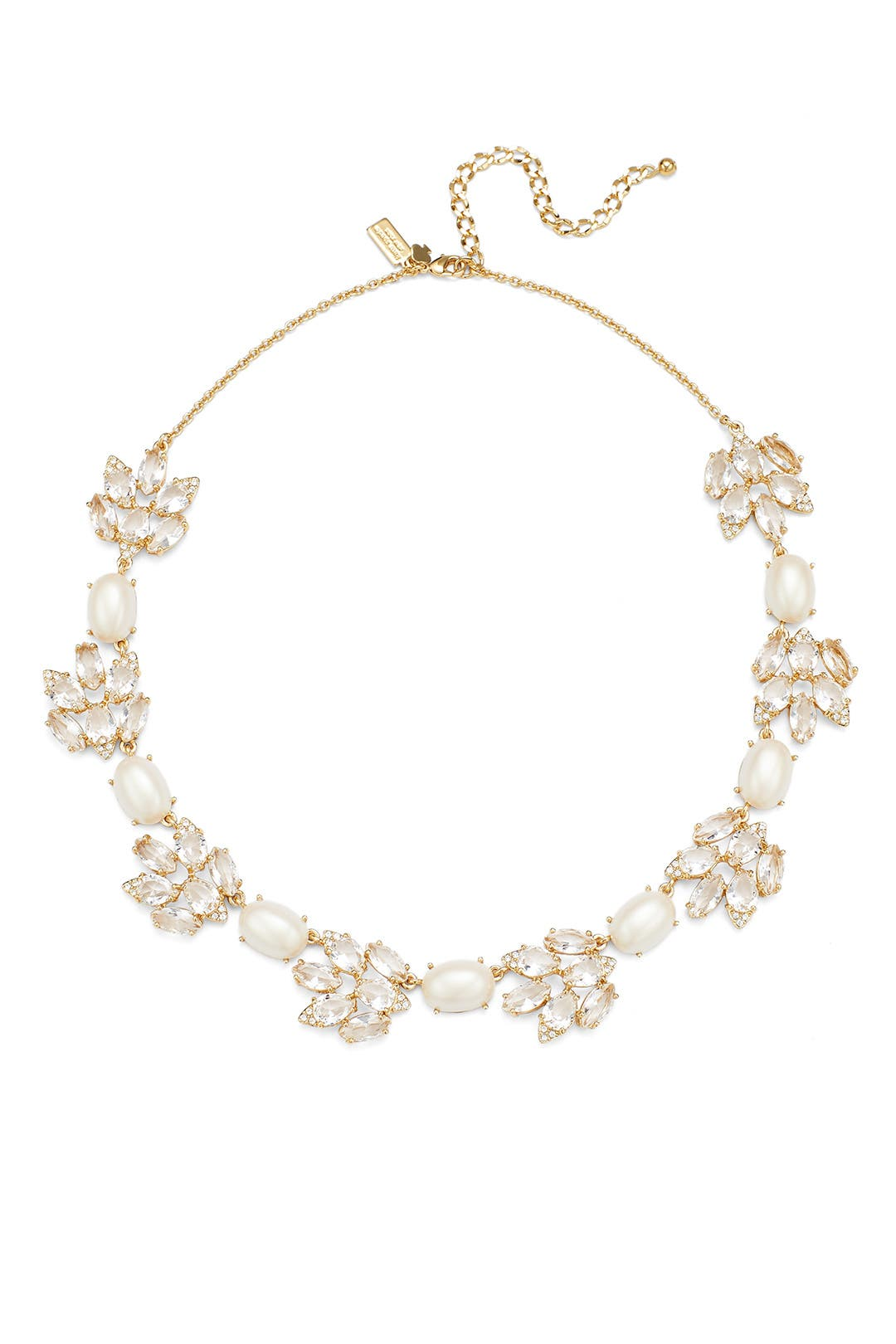Pearl And Crystal Statement Necklace By Kate Spade New York Accessories For  $30  Rent The Runway