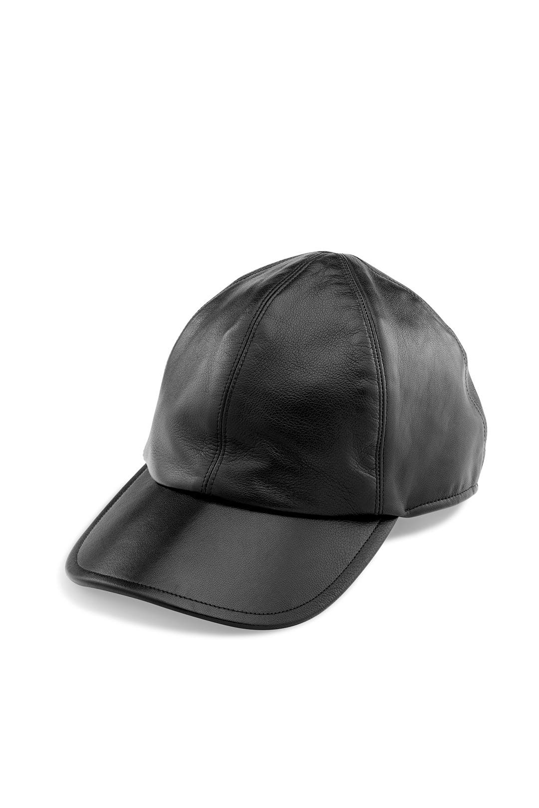 Black Ballgame Cap by Yestadt