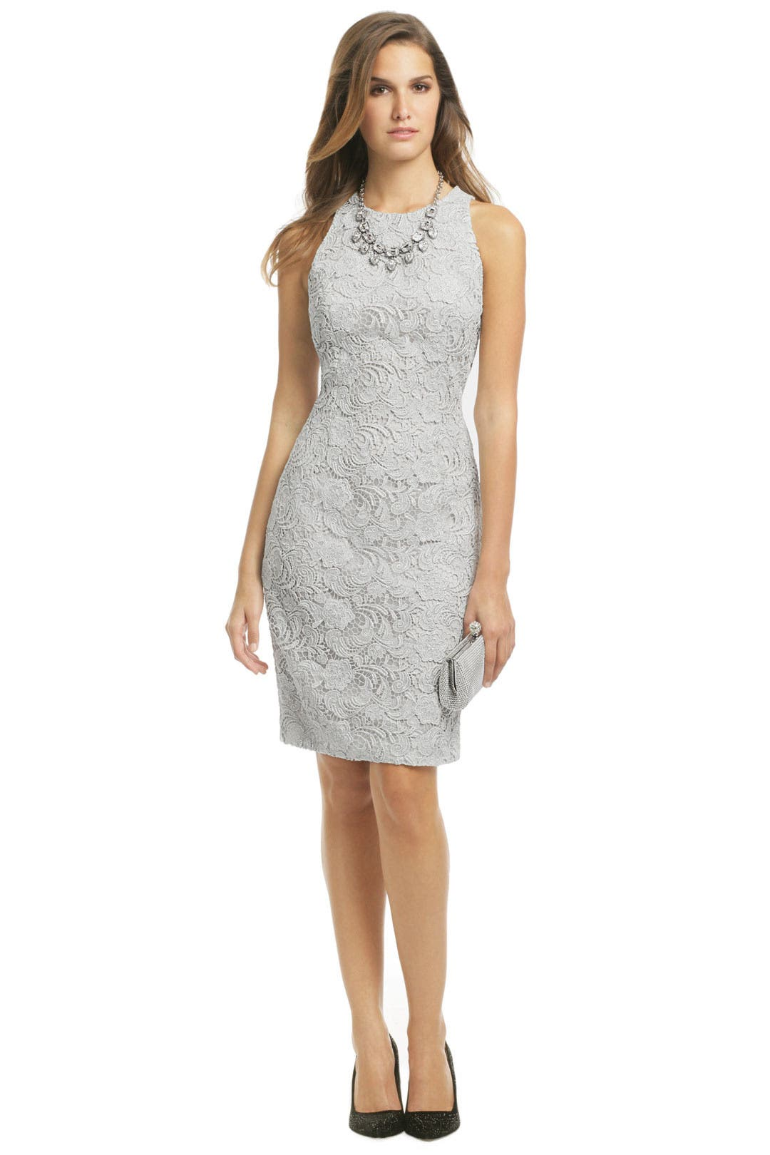 Love Is In The Air Sheath by Carmen Marc Valvo