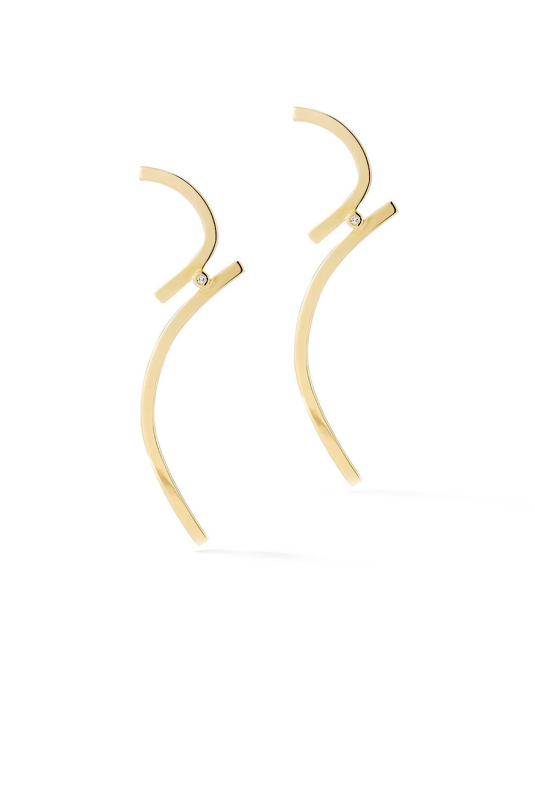 Gold Amber Earrings By Elizabeth And James Accessories For $20  Rent The  Runway