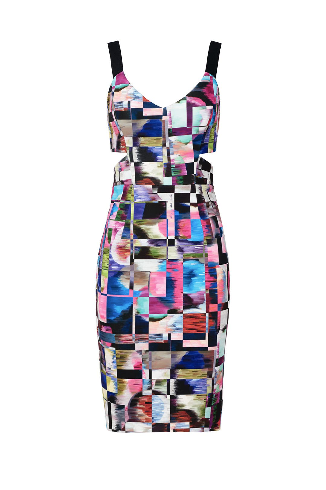 Cubist Print Sheath by Milly for $45 - $65 | Rent the Runway