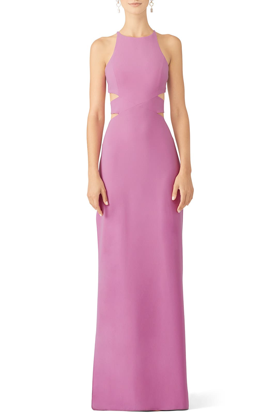 97aa536fac5 Pink Cut Out Gown by Halston Heritage for  70 -  108