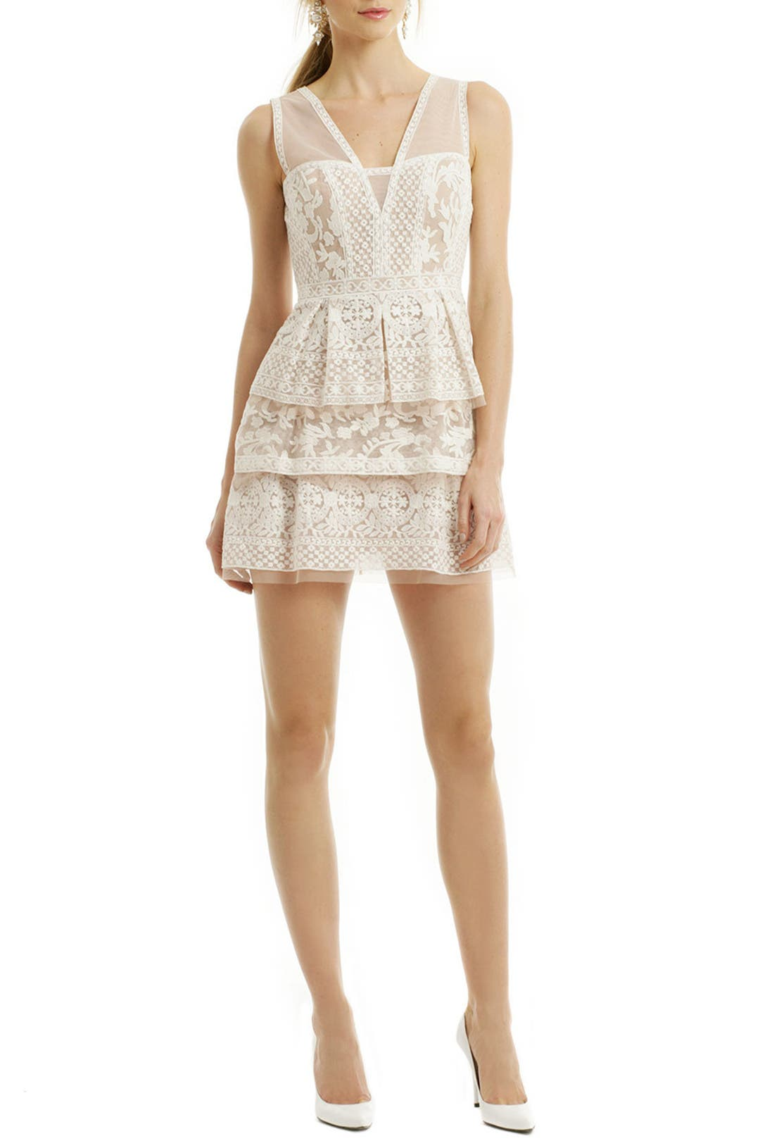 Scarletta Lace Dress by BCBGMAXAZRIA