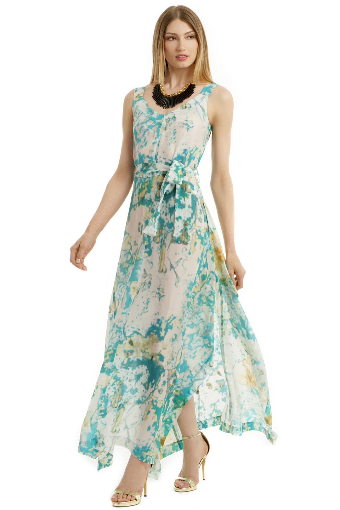Vivienne Westwood Anglomania Zeta Maxi Dress