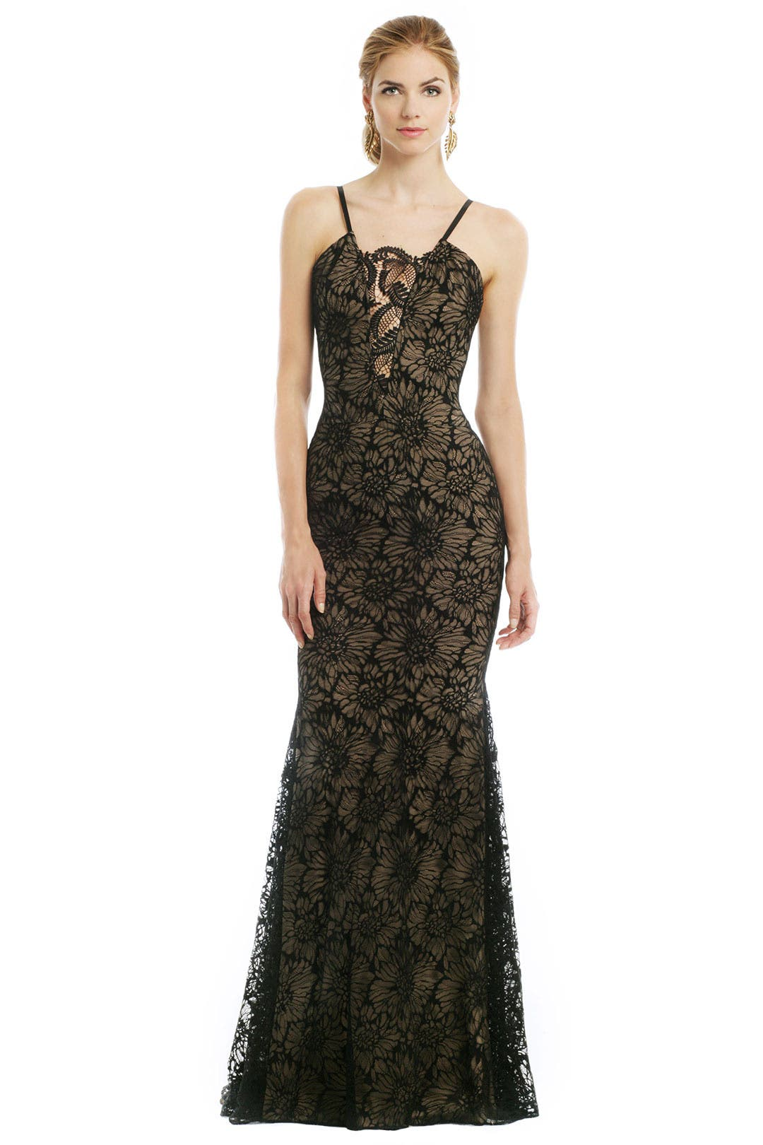 Noir Daffodil Gown by Vera Wang for $50 - $95 - Rent the Runway