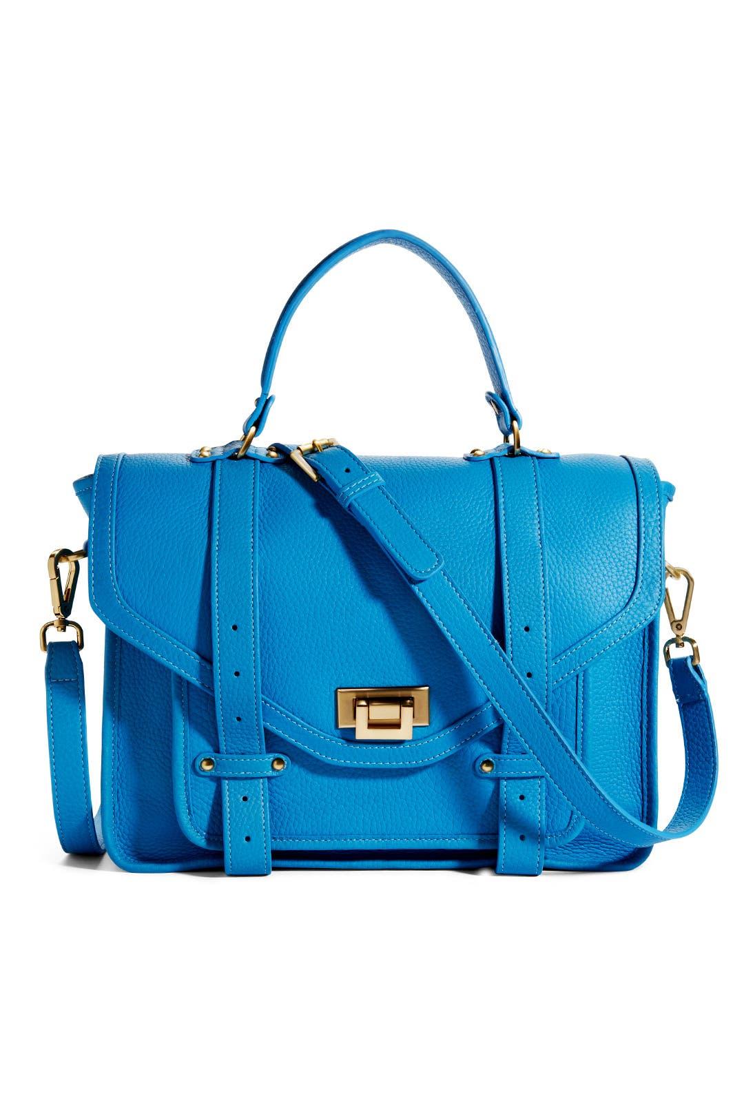 Blue Hayden Satchel by Gigi New York