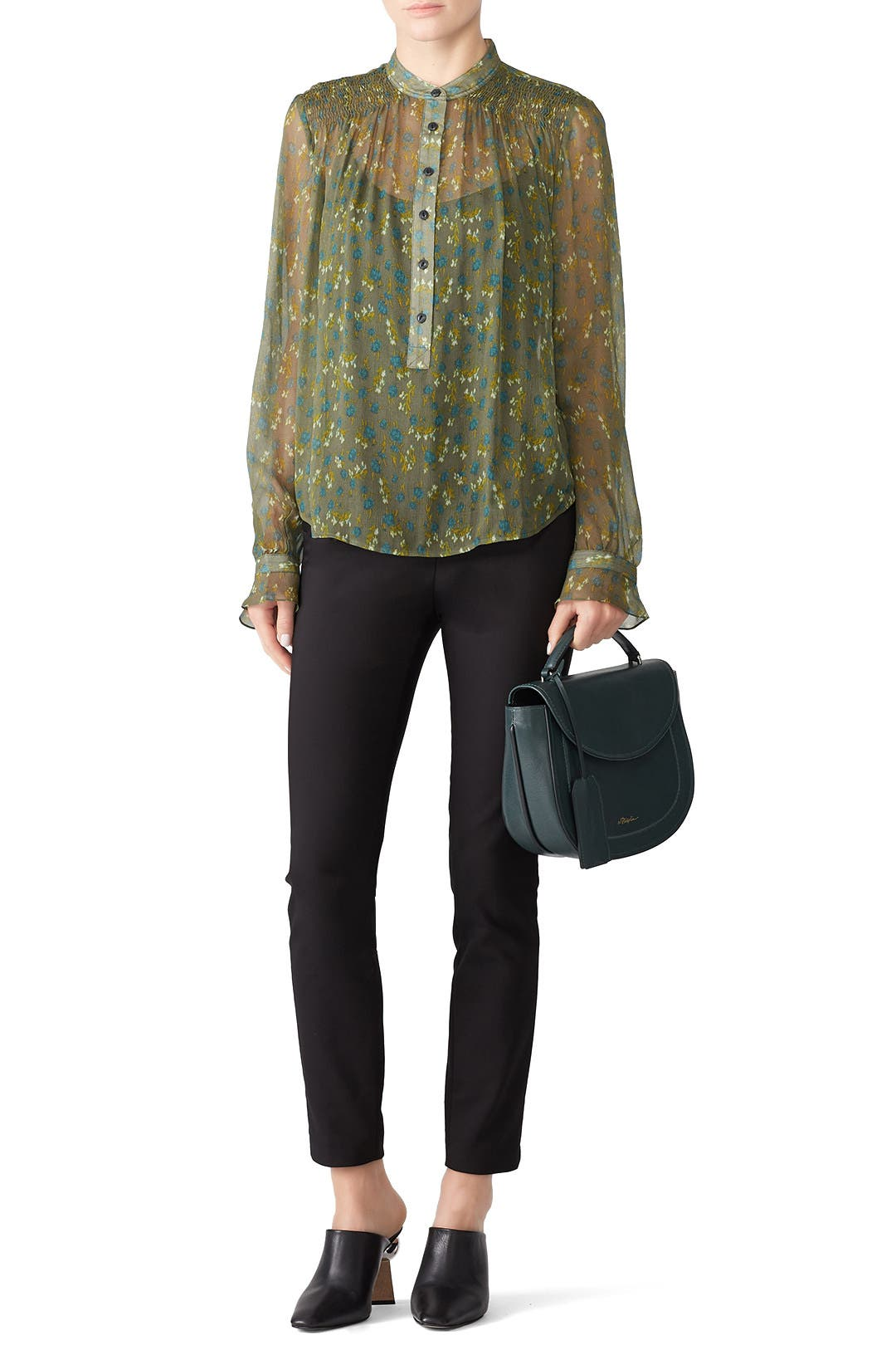 737be0ef51ce63 Sheer Susan Blouse by rag   bone for  60