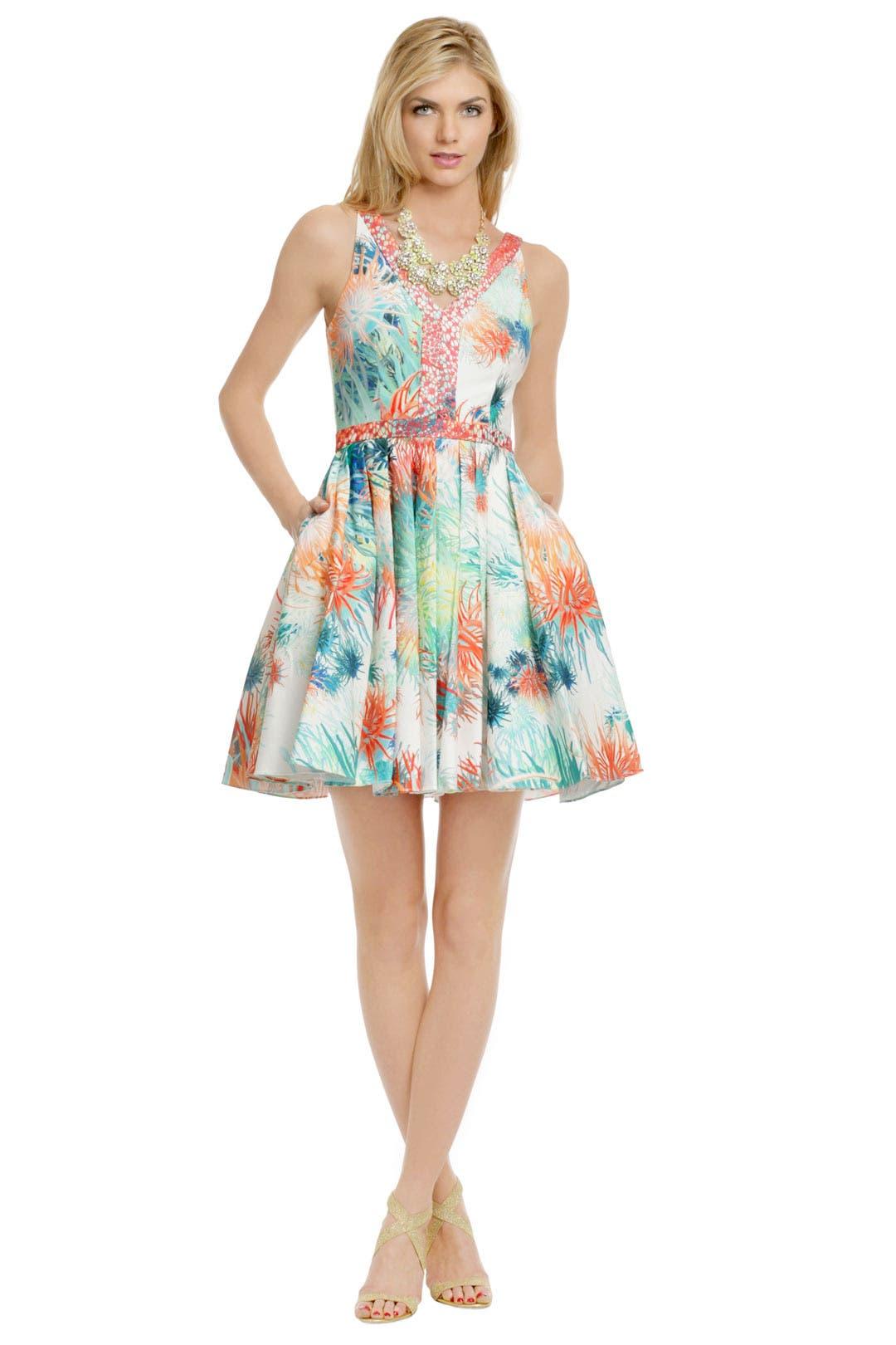 Coral Sea Urchin Dress by Christian Cota