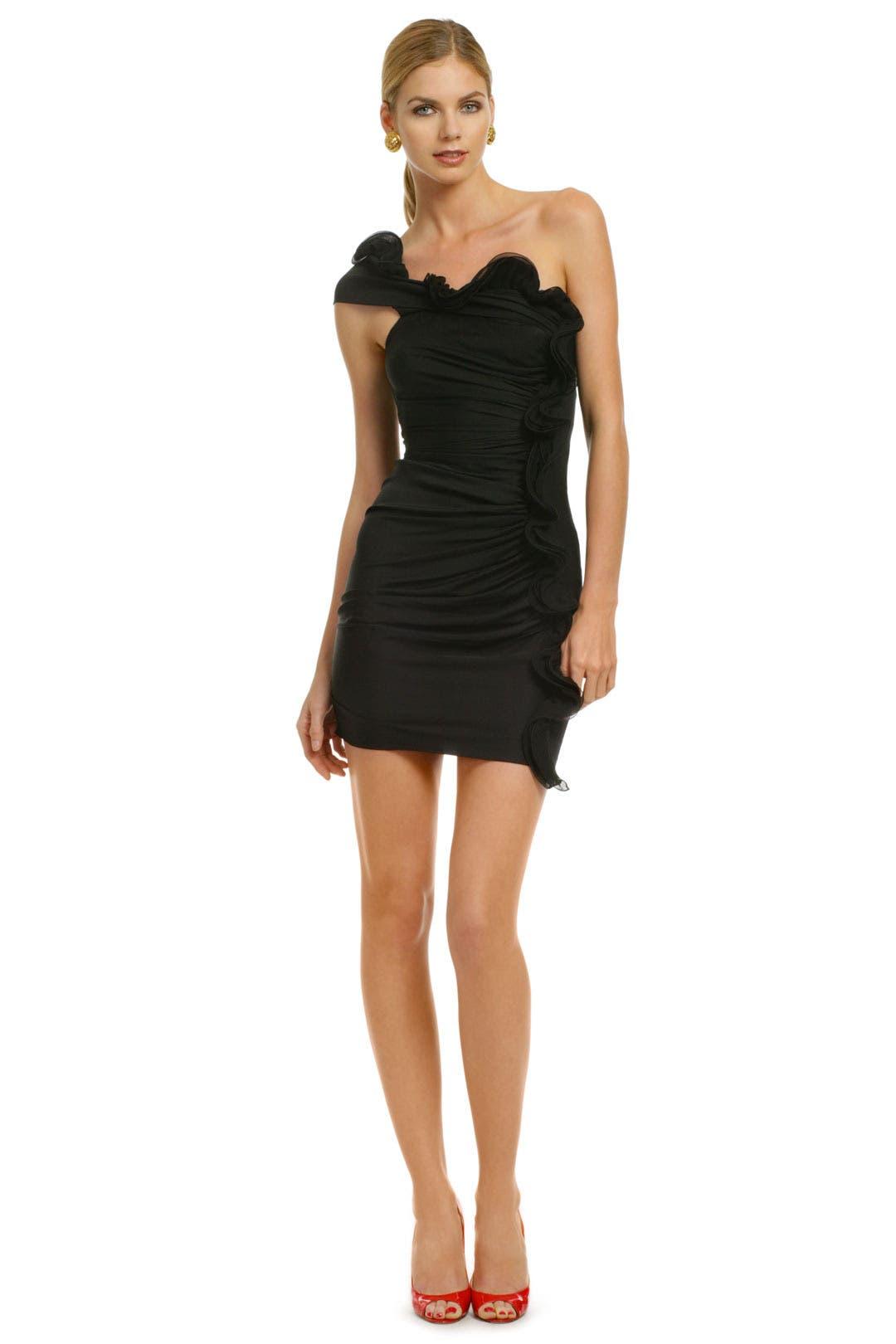Smoking Shoulder Dress by Catherine Malandrino