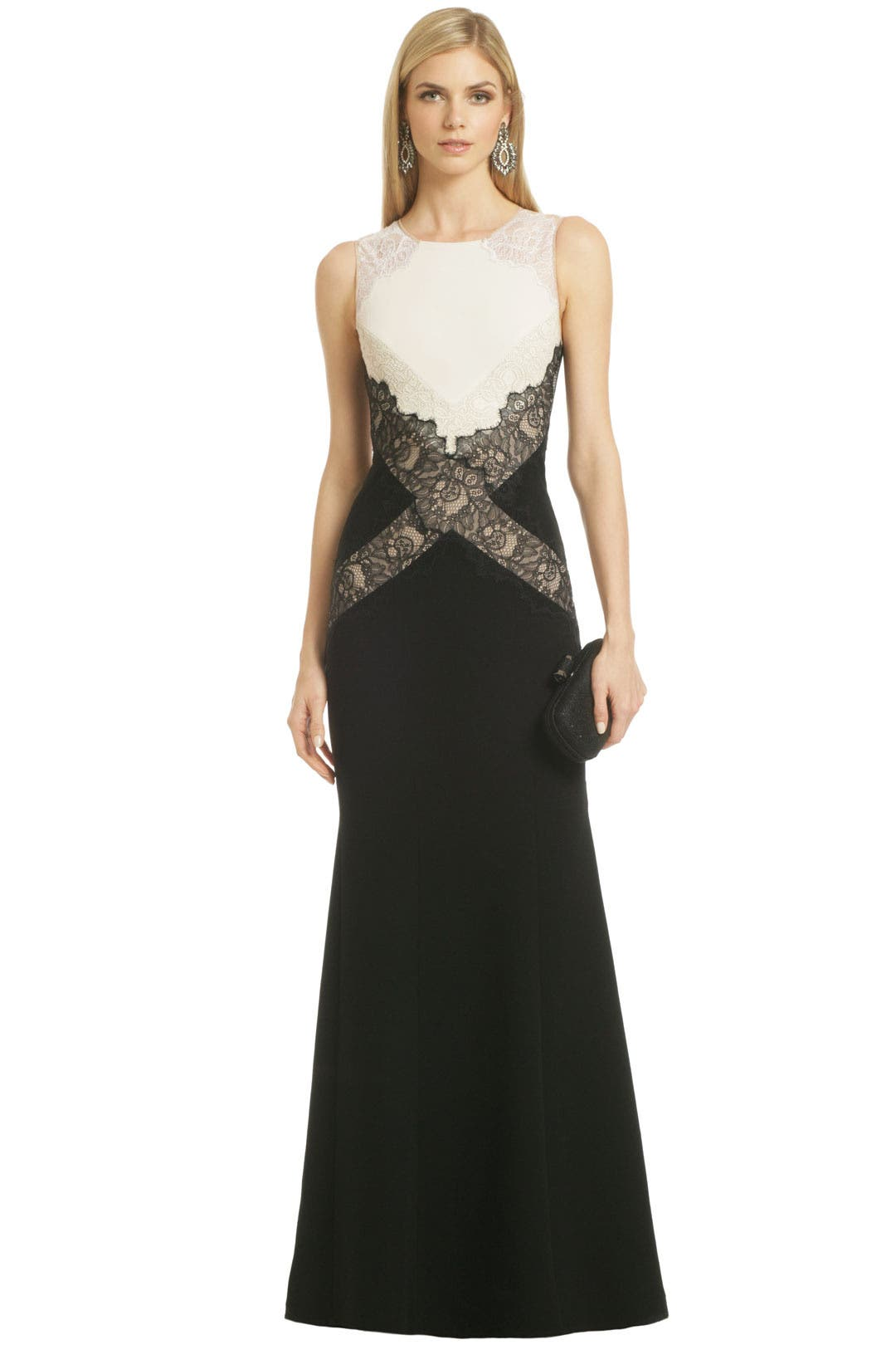 Locket of Lace Gown by BCBGMAXAZRIA