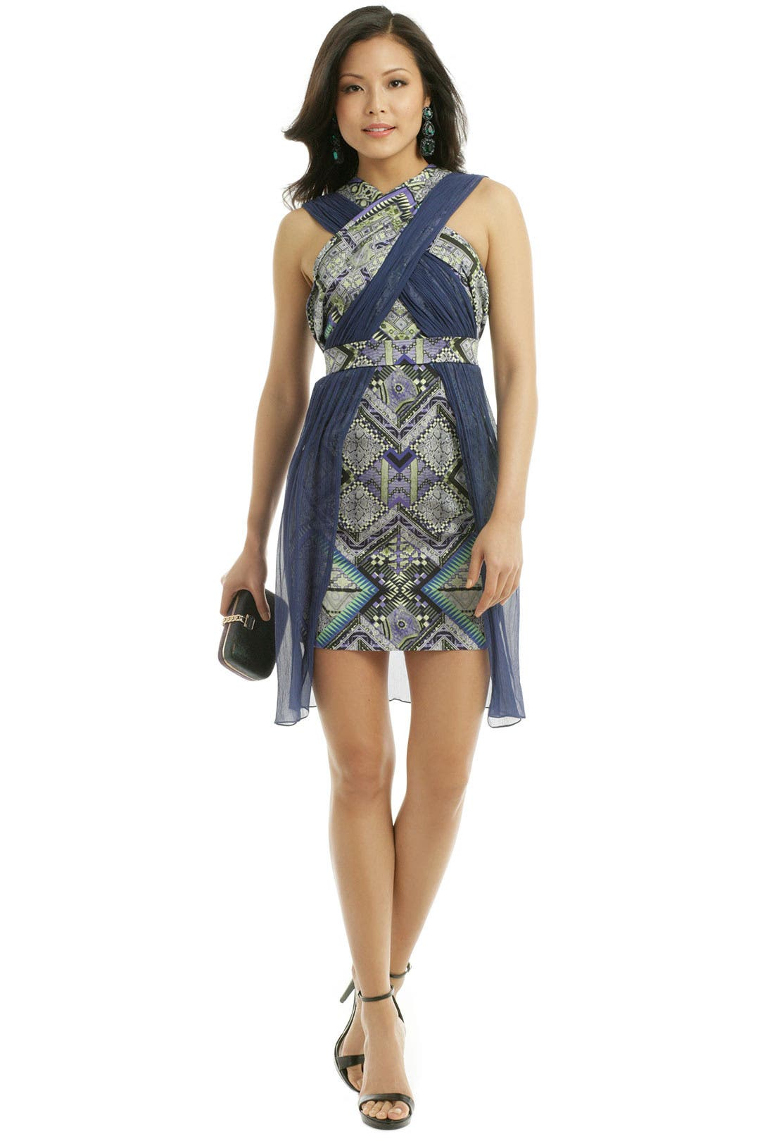 Raj Patchwork Dress by Matthew Williamson