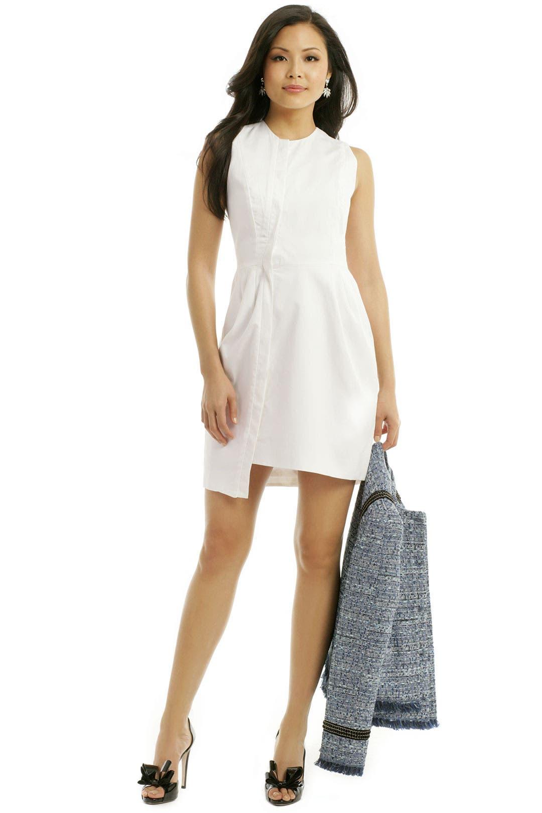 Winkie Placket Dress by ELLERY