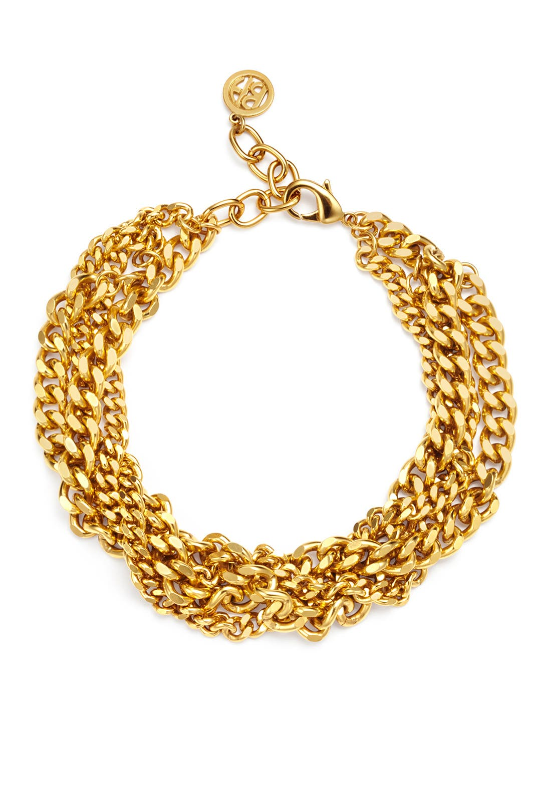 Chain Reaction Necklace by Ben-Amun
