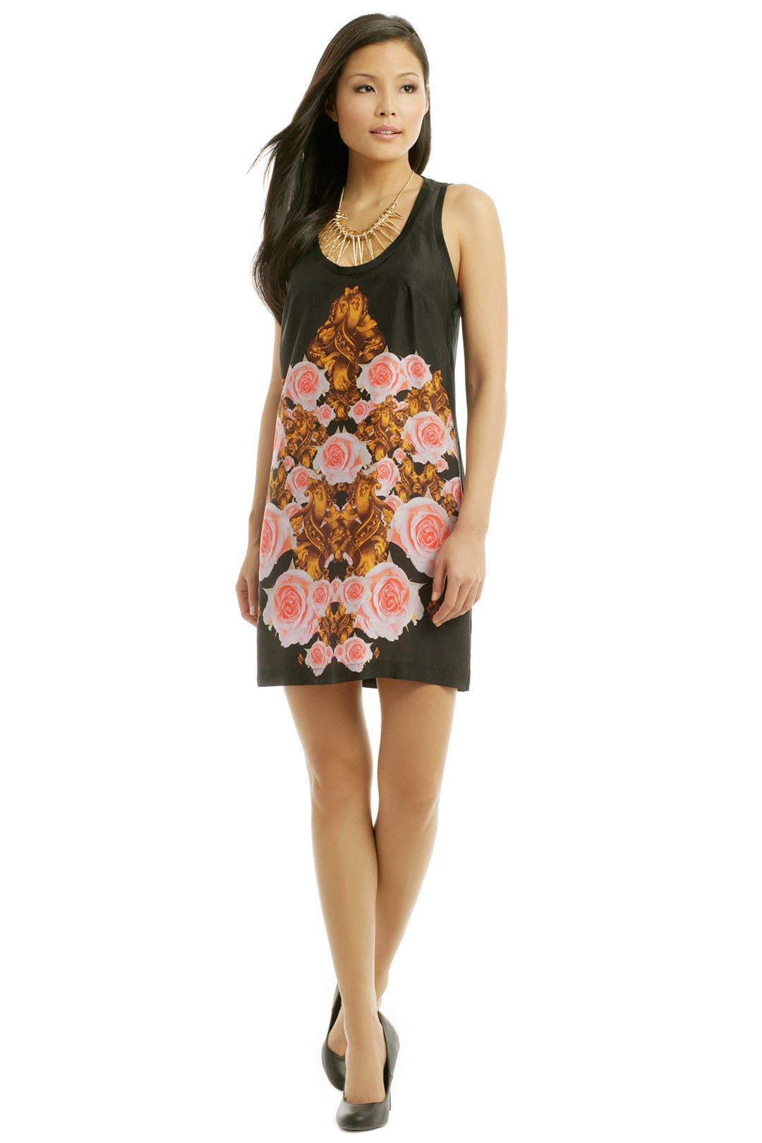 Flower Bomb Tank Dress by Josh Goot