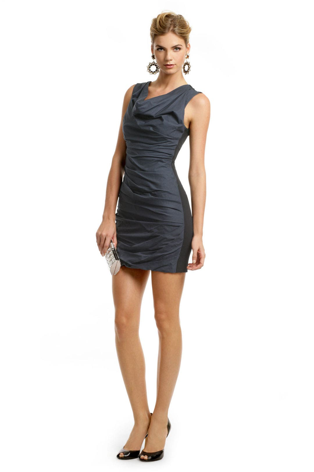 Bicolor Power Sheath by Vera Wang