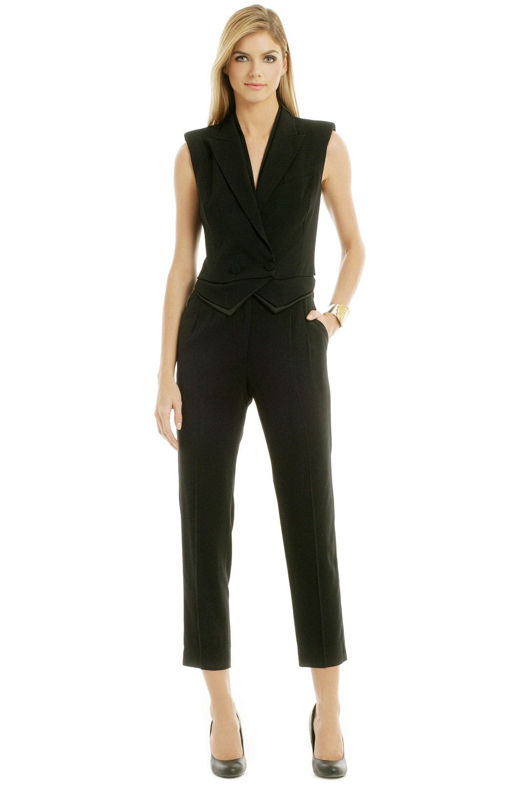 Top Hat Jumpsuit by Viktor & Rolf