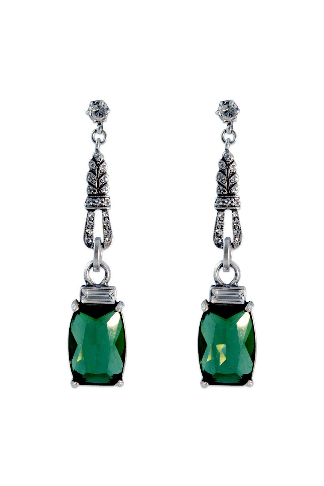 Emerald Nouveau Drops by Gerard Yosca