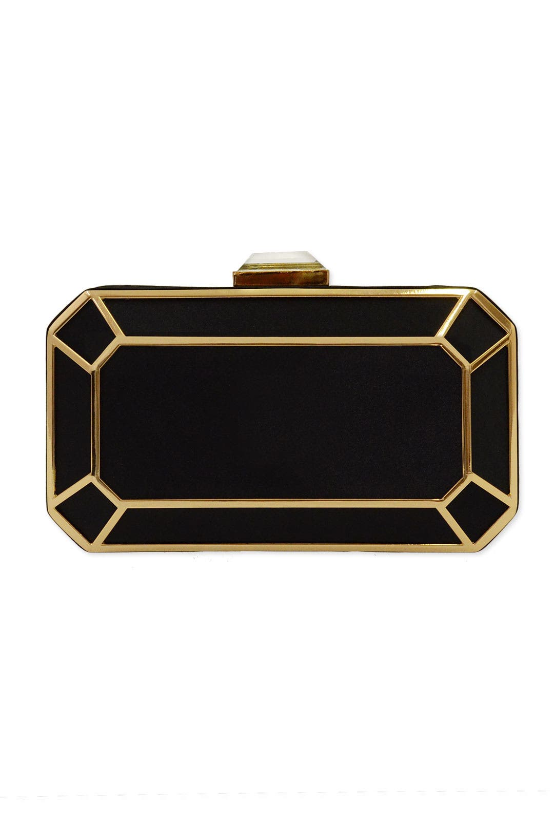 Jet Facet Clutch by Love Moschino Accessories