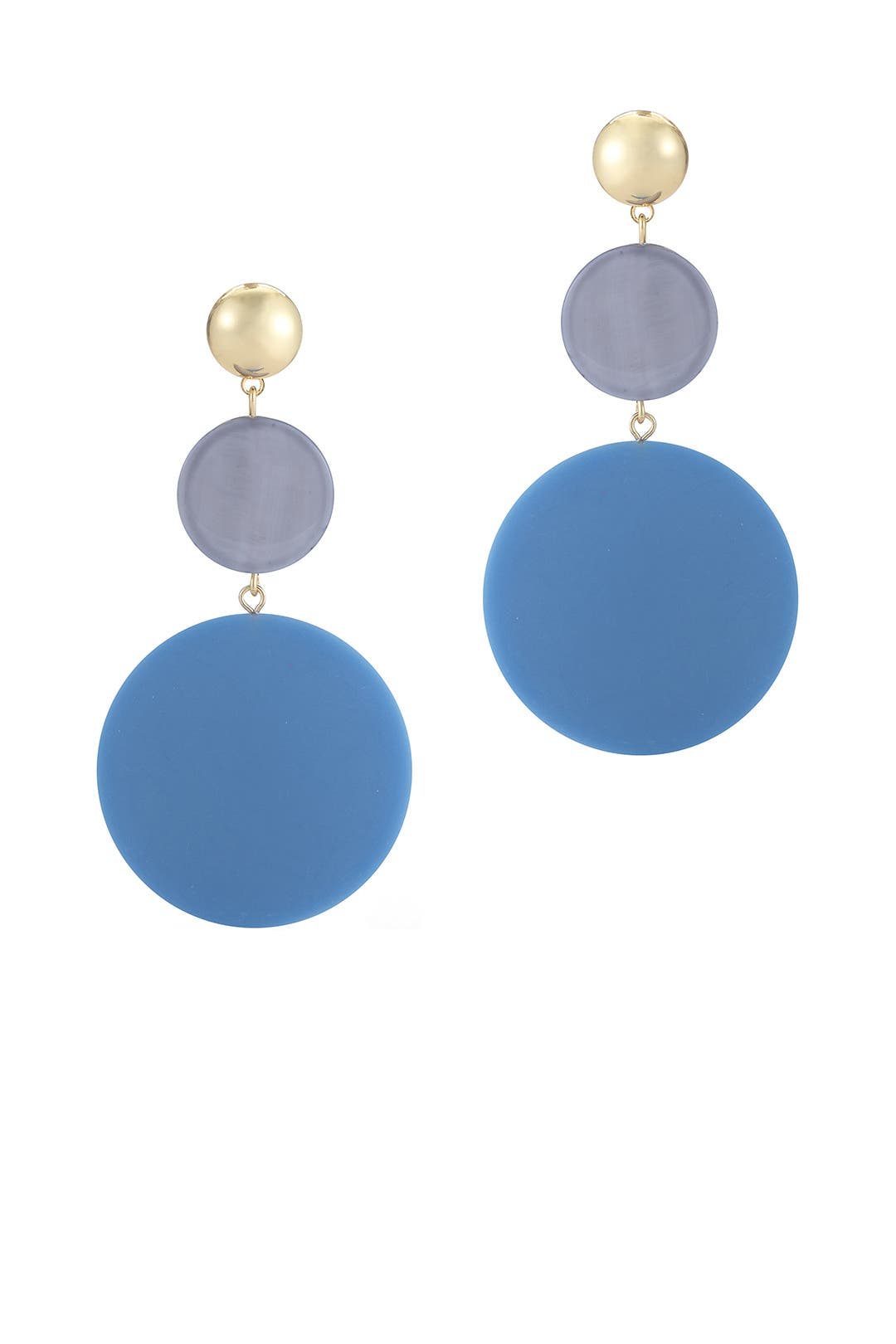Blue Carter Earrings By Elizabeth And James Accessories For $20  Rent The  Runway