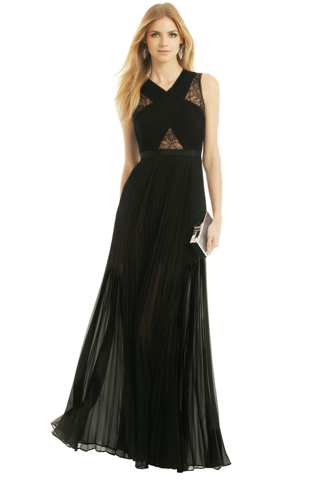 Caia Pleated Gown by BCBGMAXAZRIA for $180 | Rent the Runway