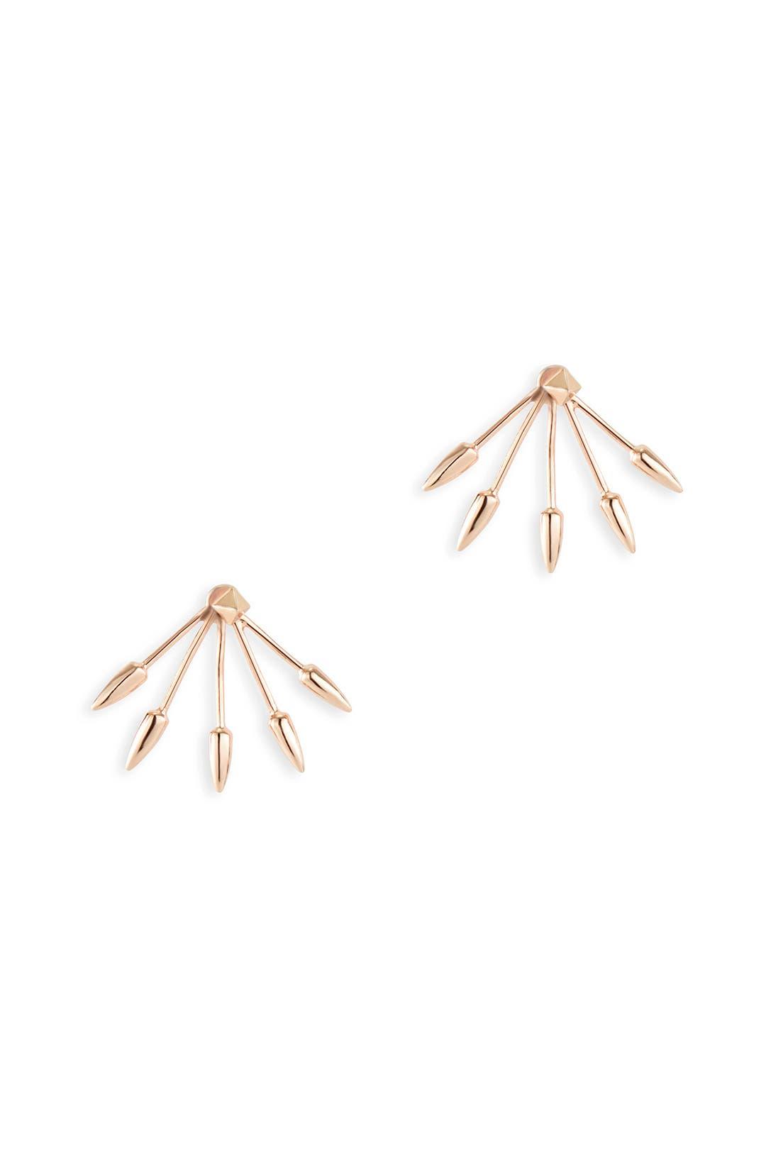 Rose Cinque Earrings by Pamela Love