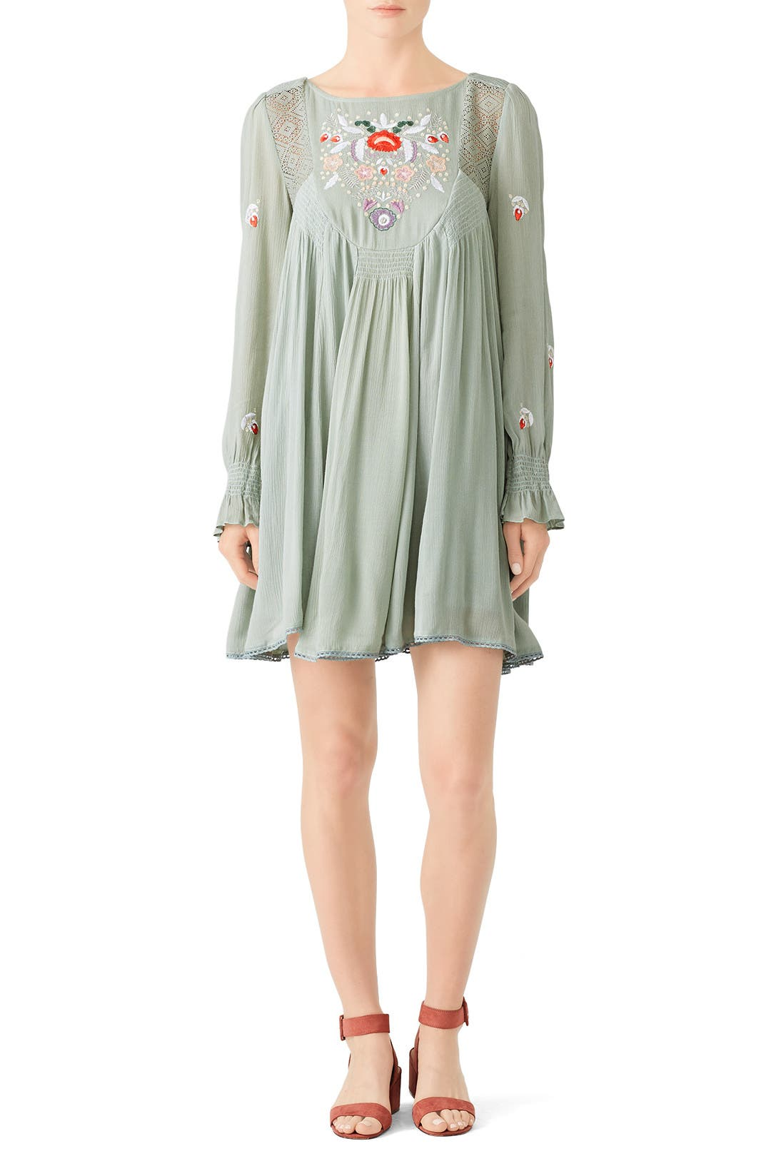 cc06c2bdeb469 Mint Mohave Mini Dress by Free People for $30 | Rent the Runway