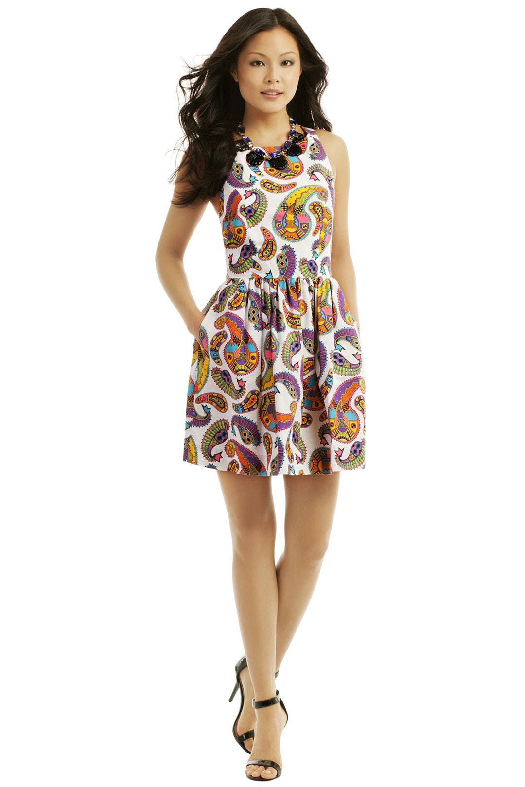 Memphis cross back dress by msgm for 80 rent the runway for Rent dress for wedding guest