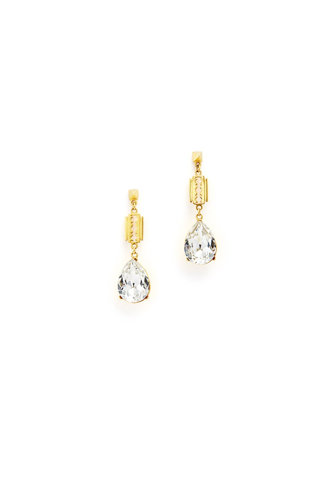 Cut Couture Drop Earrings by Tom Binns
