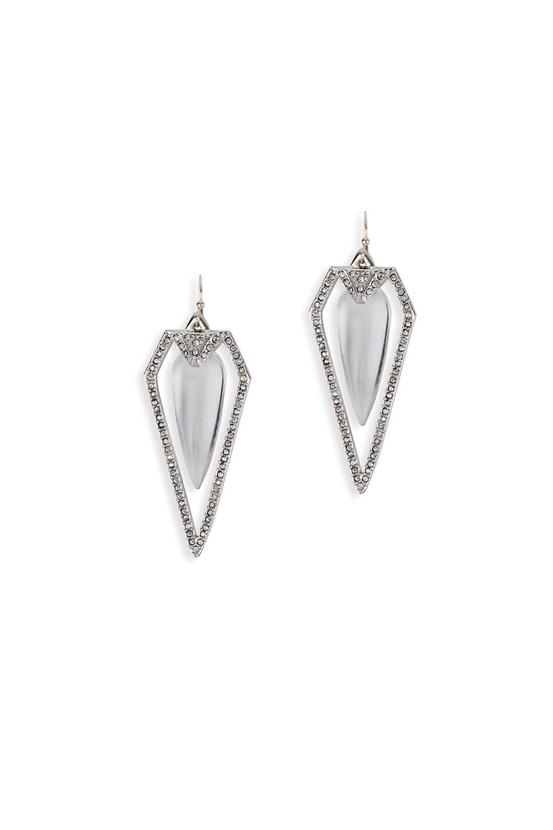 Diamond Dagger Earrings by Alexis Bittar