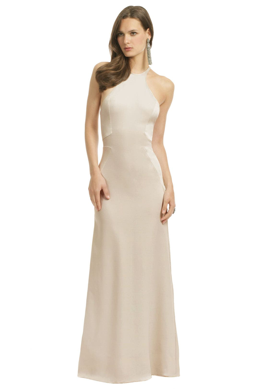Cold As Ice Gown by Halston Heritage