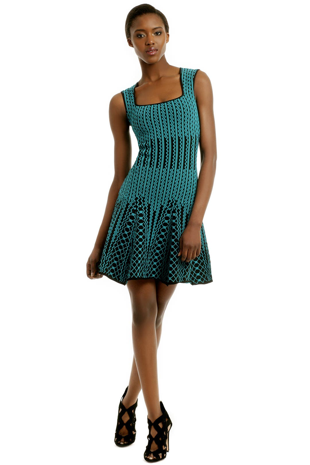 Chevron Surge Dress by RVN